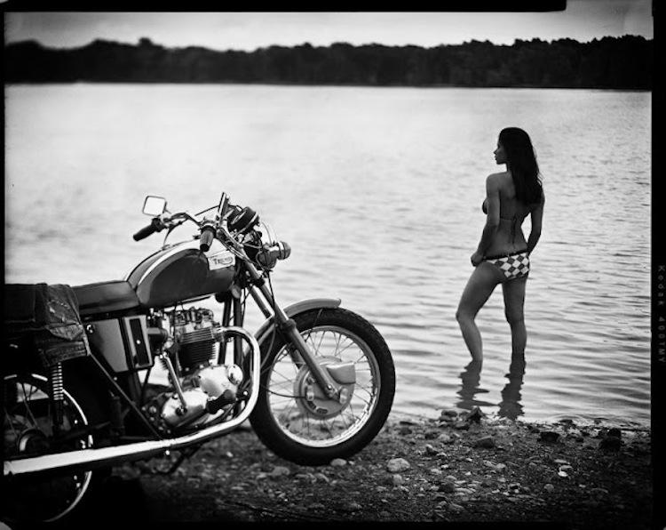 bikini triumph motorcycle