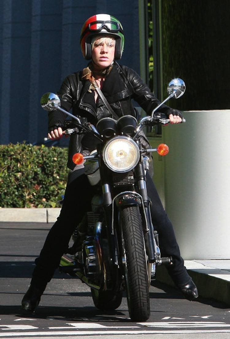 4Ever2Wheels, 4E2W, Best of the Web on Two Wheels, Celebrities Riding Motorcycles,