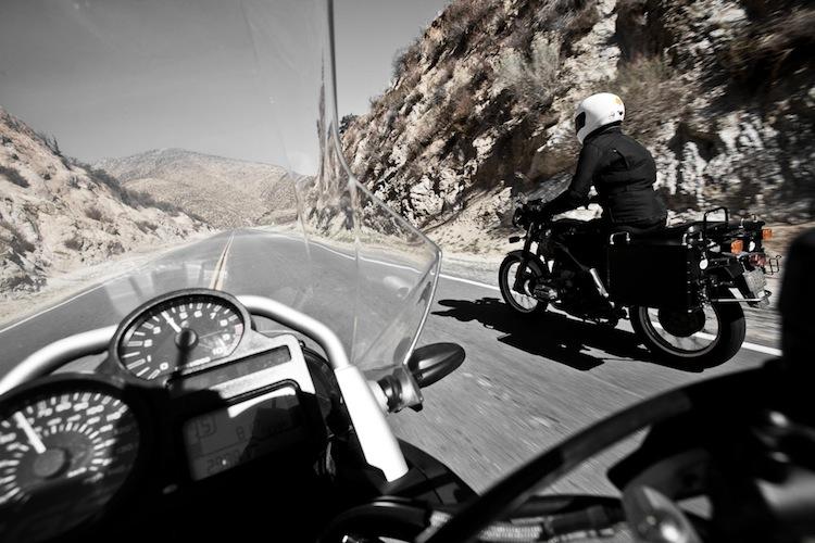 Corner Motorcycle POV