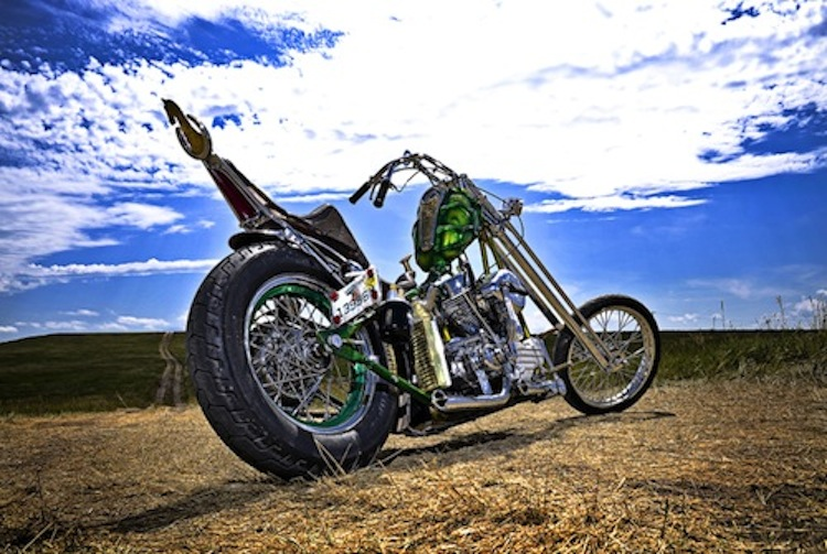 Girder, chopper, long, panhead, Harley