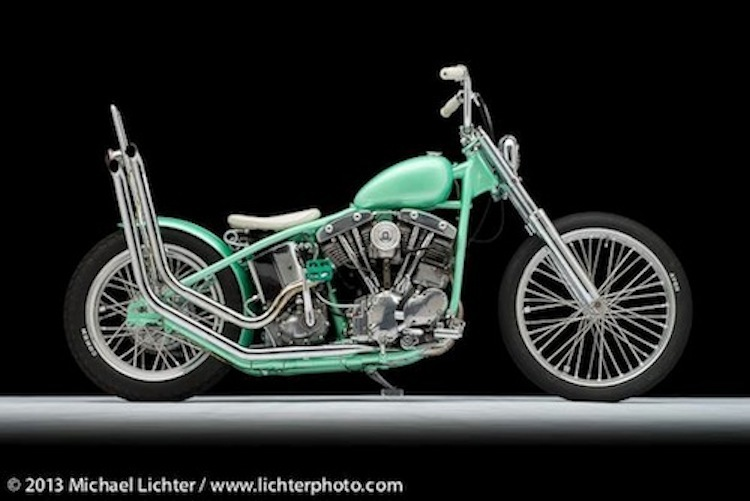 pipeside, motorcycle photo