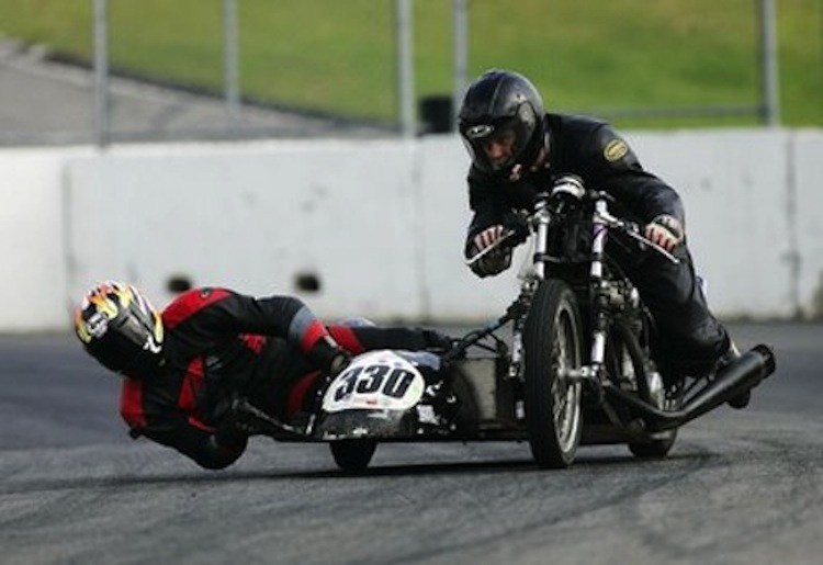 Sidecar racing, motorcycle