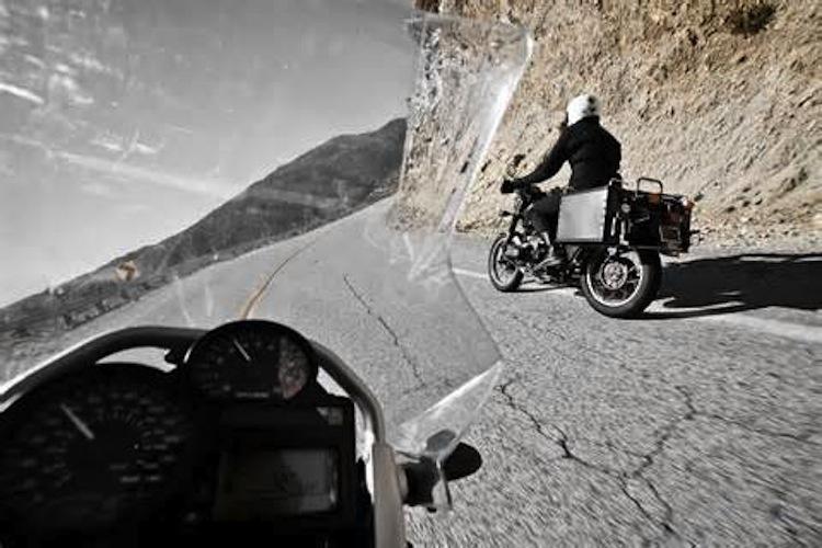 Motorcycle POV