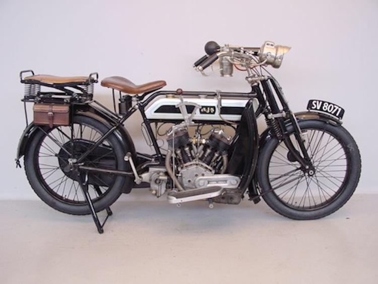 AJS, vintage motorcycle