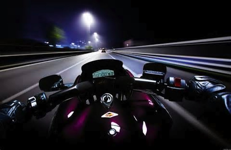 POV, Nighttime motorcycle