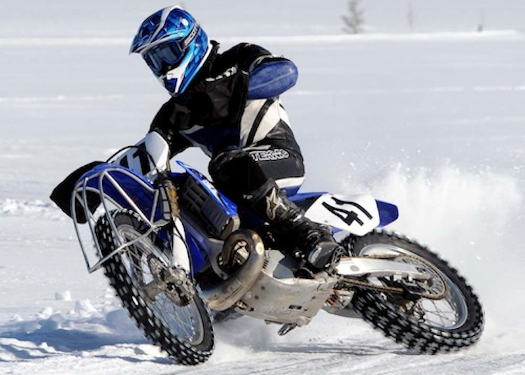 Ice Racing, Motorcycle Ice Racing