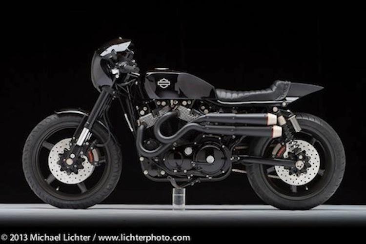Harley-Davidson, Cafe Racer, Michael Lichter, Ton-Up