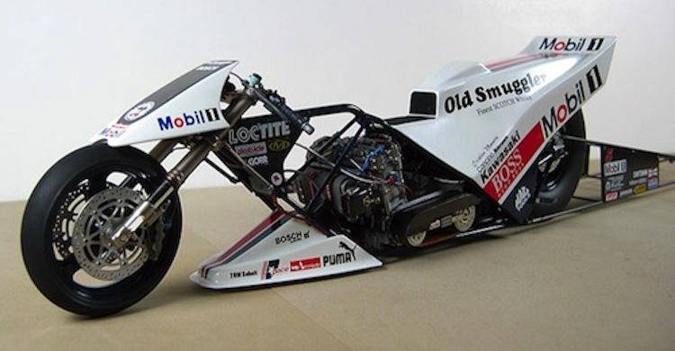 Drag Racer, Mobil Oil Racer