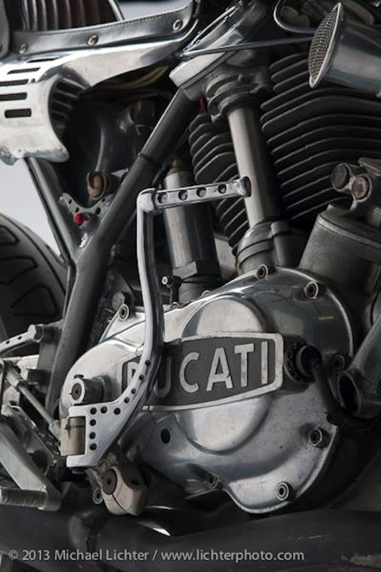 Ducati Cafe Racer, Michael Lichter, Ton-Up