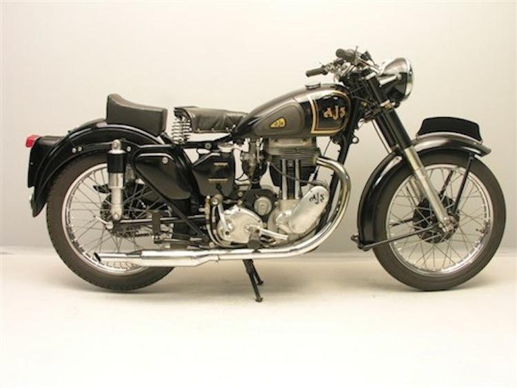 AJS Vintage, Motorcycle