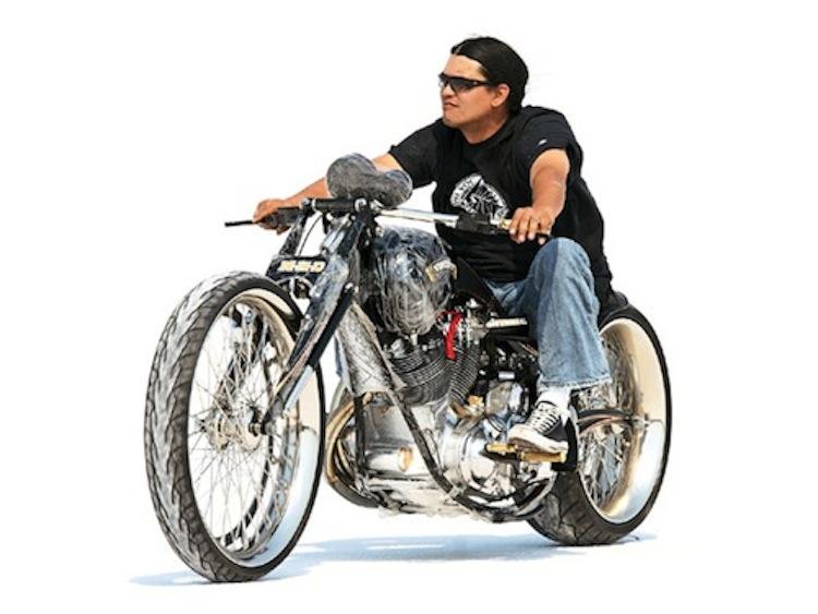Matt Hotch, Biker Build Off, Salt Flats
