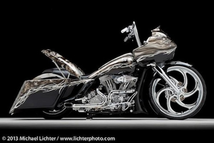 Custom bagger, Michael Lichter, Roadglide