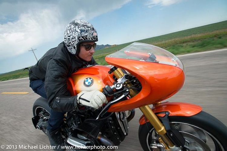 Roland Sands, BMW Motorcycle, Michael LIchter, Lichter Photo