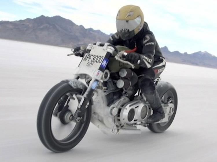 Confederate Motorcycle, Confederate motorcycle racer
