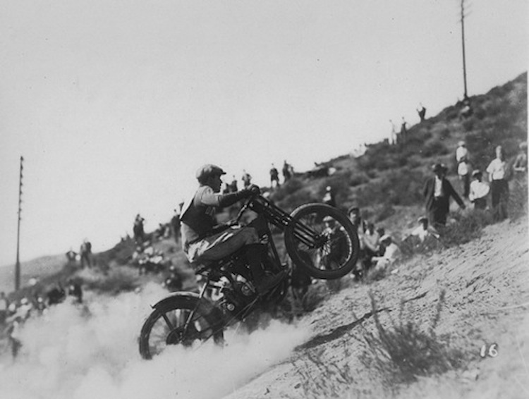 Vintage Motorcycle Racing, black and white motorcycle photo