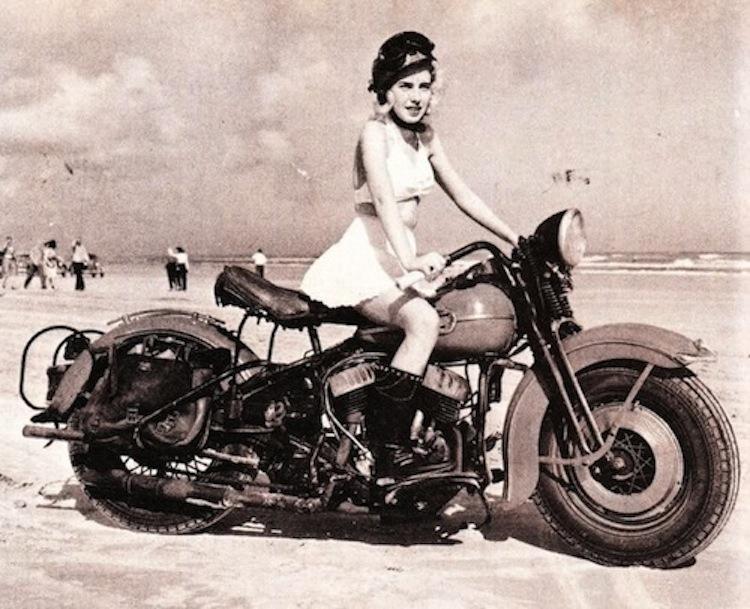 Harley Flathead, vintage Harley