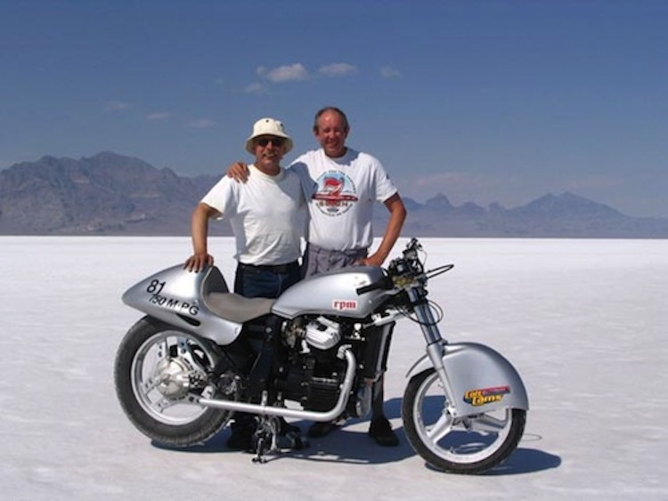 Salt Flats racing team, motorcycle