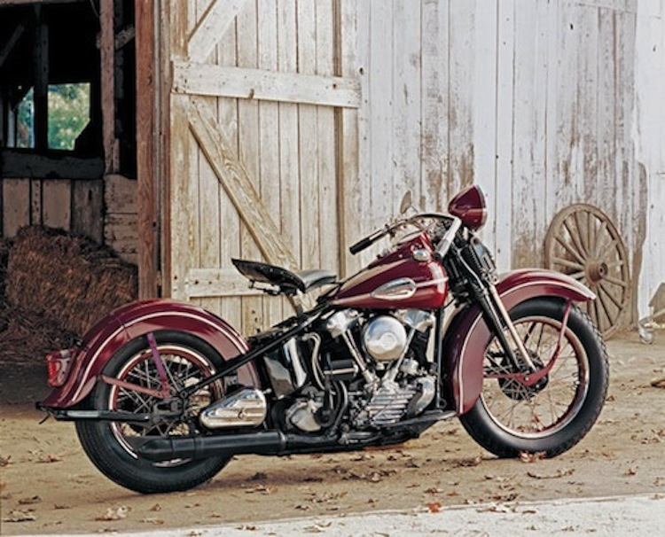 1946 Red Knucklehead