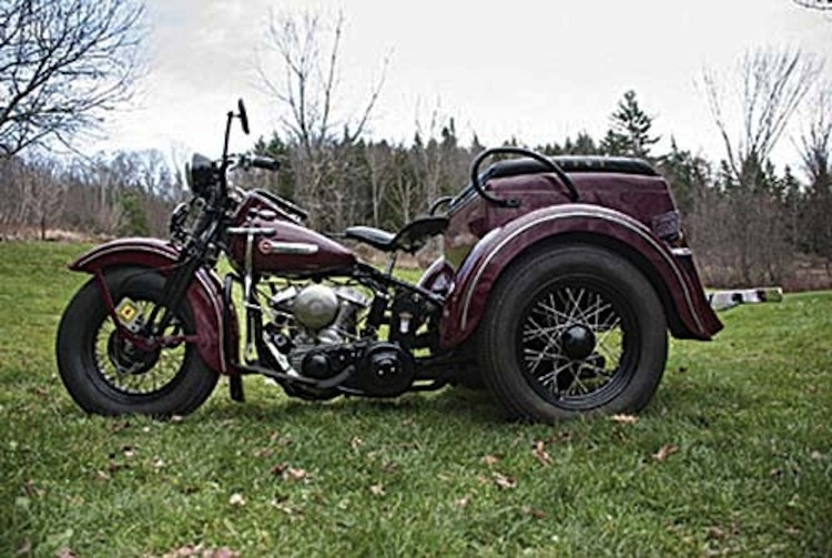 1949 Servicar, vintage three wheeler, Harley trike, classic harley trike, vintage trike