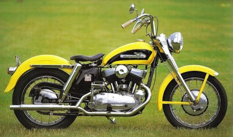 1954 KHK harley, vintage harley, sportster precursor