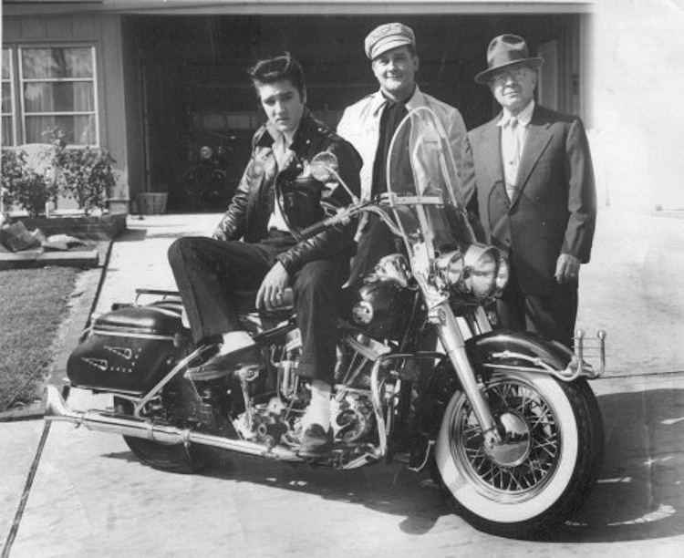 Elvis, Elvis Presley, TCB, 1957 Harley