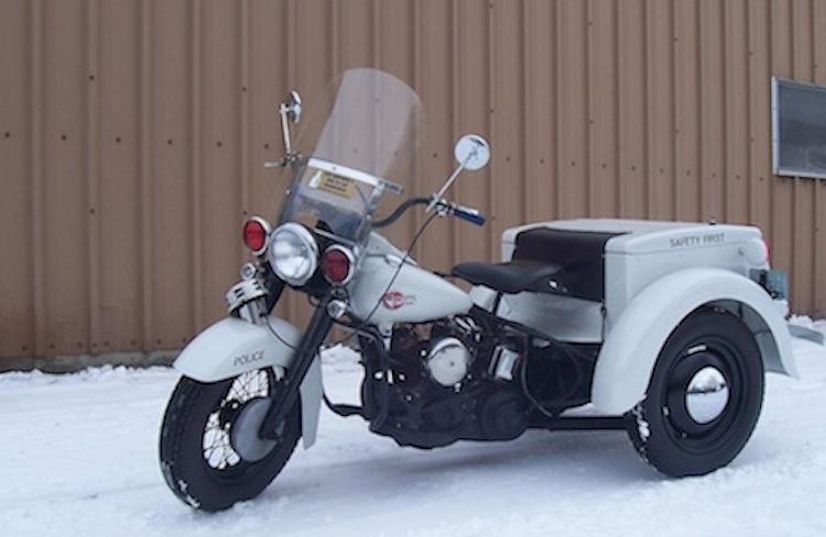 1959 Police harley, Harley Servicar, Police Harley Servicar