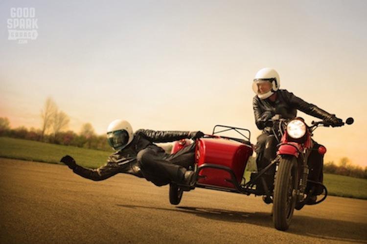 Sidecar Racer, red racer,