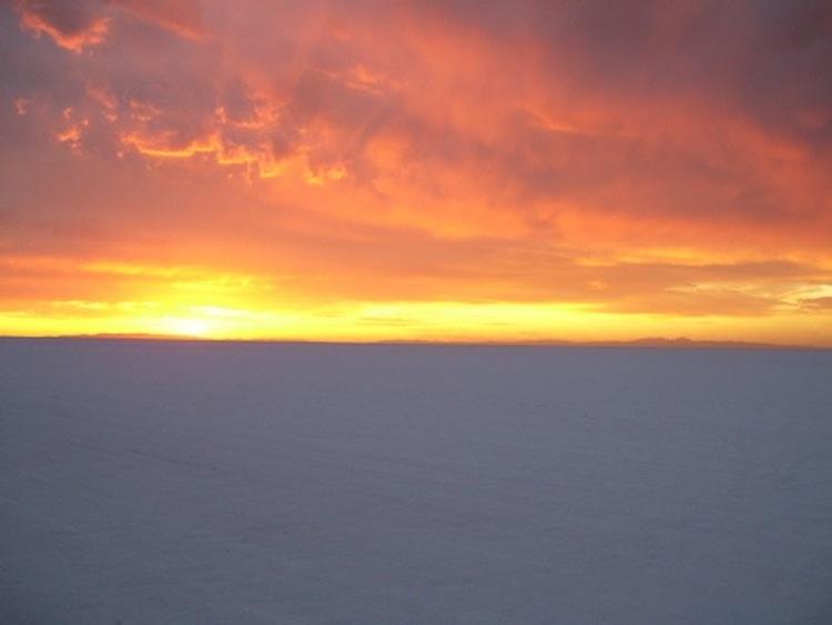 sunrise, salt flats, 4E2W