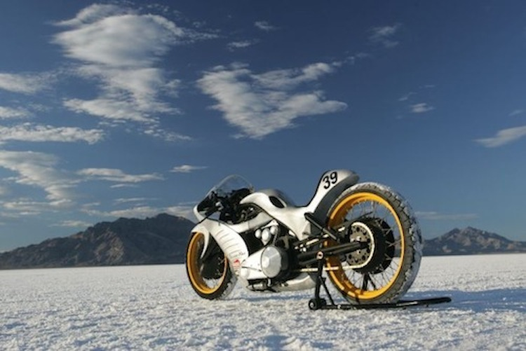 Biker Build Off, Salt Flats, Goldammer
