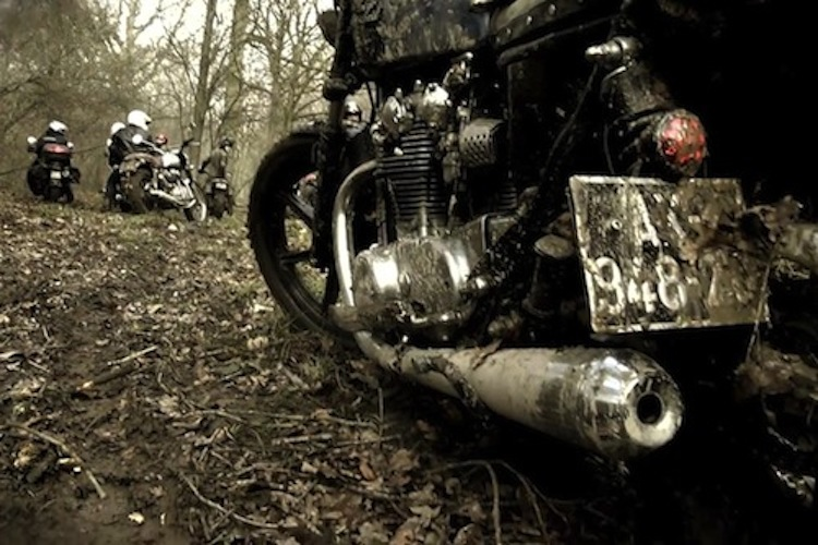 muddy motorcycle, motorcycle camping, explore