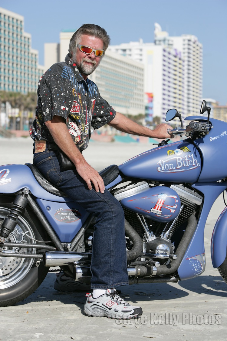 Daytona Beach Bike Week, FXR, Arlin Fatland, 2 Wheelers, Warbird Kit, Harley, Corbin