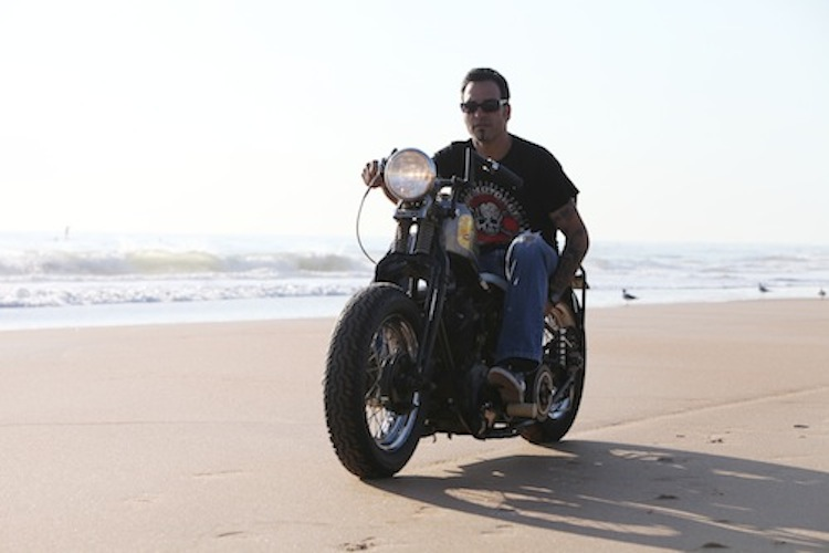 Beach, Sick Boy Cycles, Knucklehead, Daytona Beach, BObber