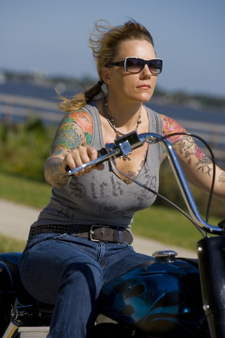 Sick Girl, Sick Boy, Tattoo Biker Woman, Woman rider