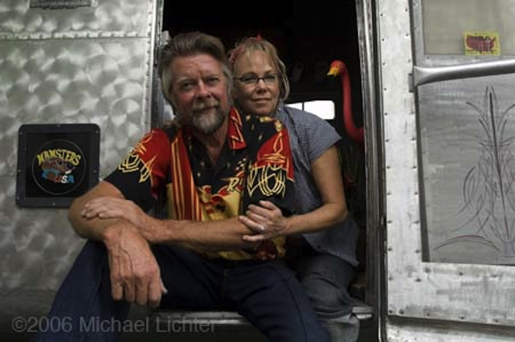 Arlin and Donna Fatland, 2 Wheelers, Michael Lichter