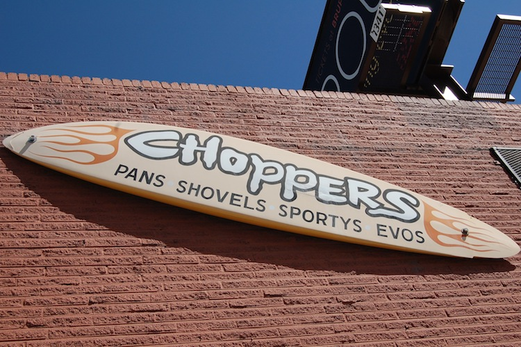 Choppers, Sign, 2 Wheelers Sign