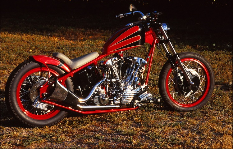 Red Knucklehead, Knuck, Knucklehead, Chopper