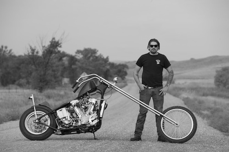 Long Chopper, Knucklehead, long front-end