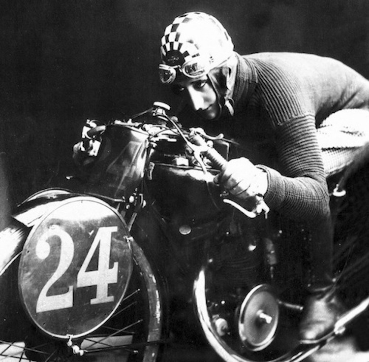Bennelli Motorcycle racer