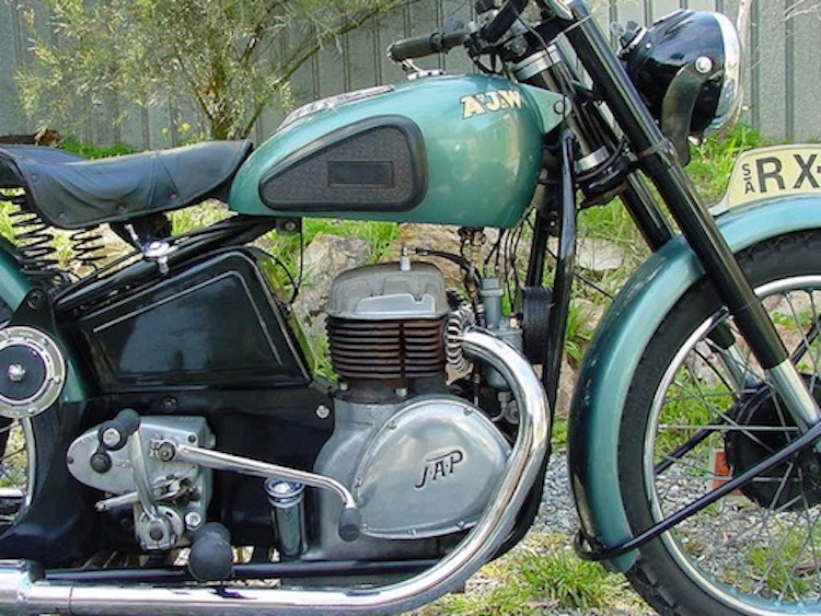 AJW Motorcycle, JAP Engine