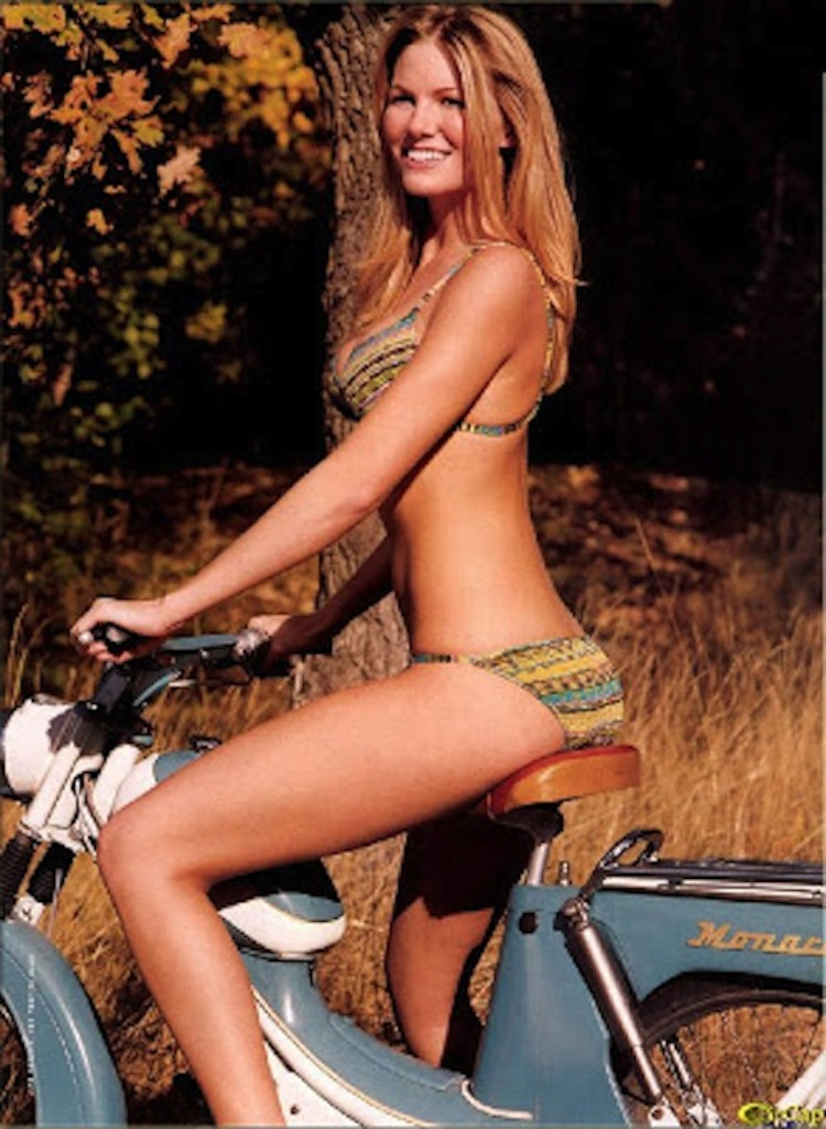 Sonya Olsen Moped, Moped Bikini Model