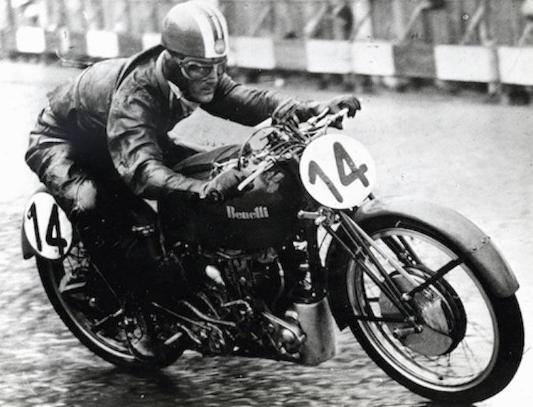 Vintage Bennelli racer