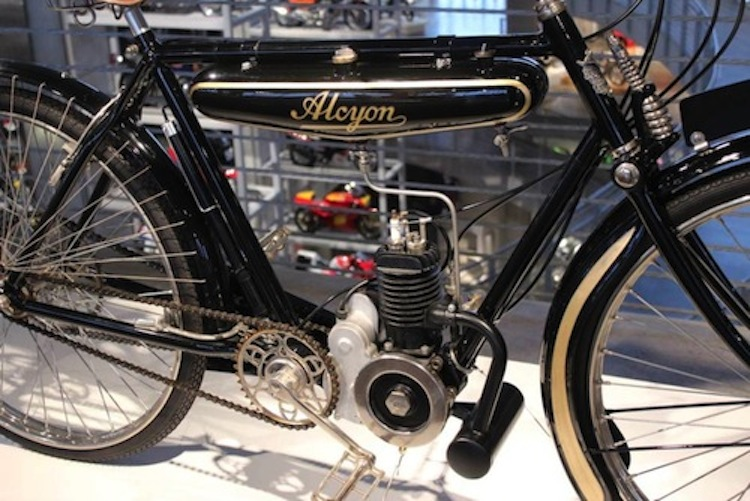 Alcyon, French Motorcycle, Vintage Motorcycle