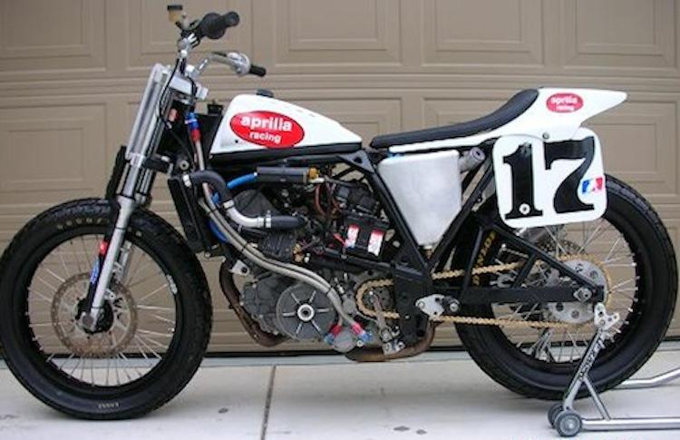 Aprilia Flattrack Motorcycle