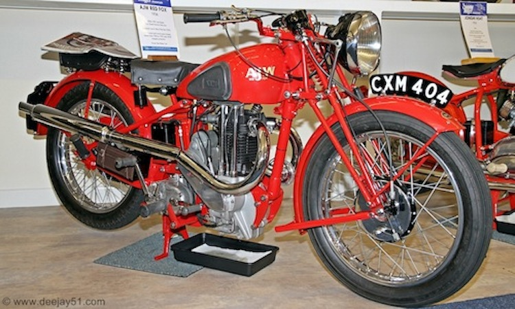AJW Red Fox, AJW Motorcycles, Red Fox