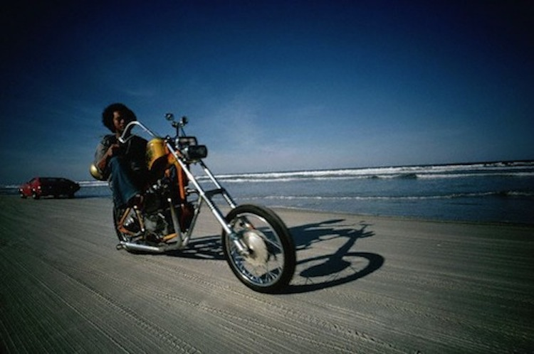 chopper beach, daytona beach, motorcycle beach