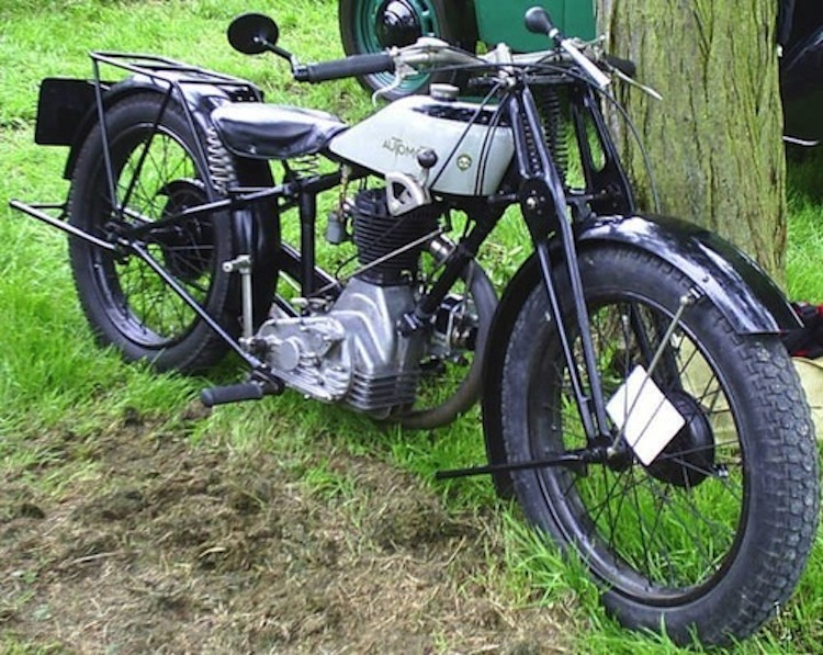automoto, vintage french motorcycle, classic french motorcycle