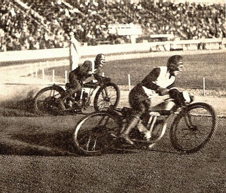 Vintage Speedway Racer, dirt racing