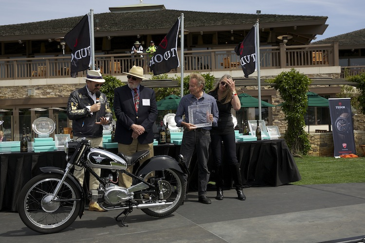 Quail Motorcycle Gathering, Vintage Motorcycle