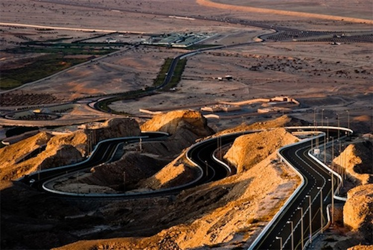 Jebel Hafeet Mountain Road, motorcycle road, best motorcycle road