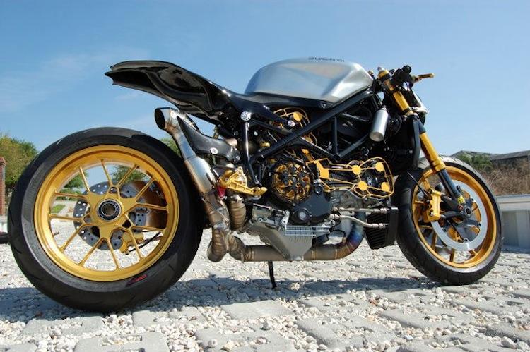 Aonzo Bodden, 1098 Ducati, Cafe racer custom